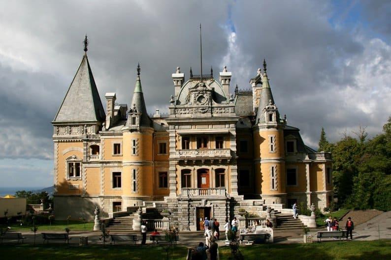 дворцы Крыма фото