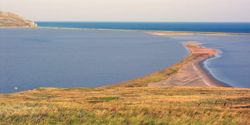Кояшское озеро Крым как добраться на машине