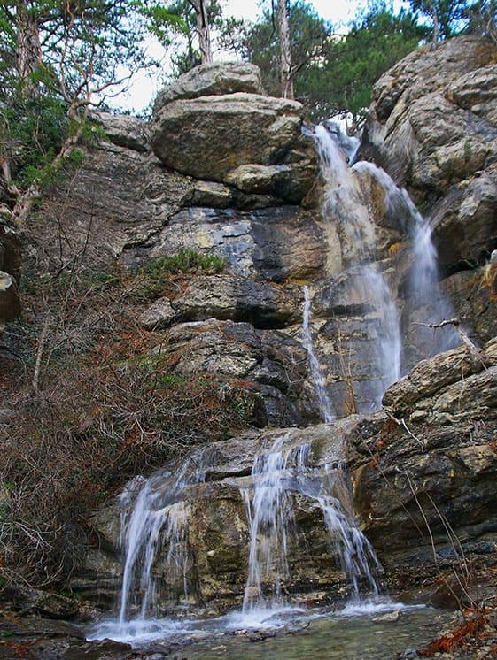 Яузлар водопад