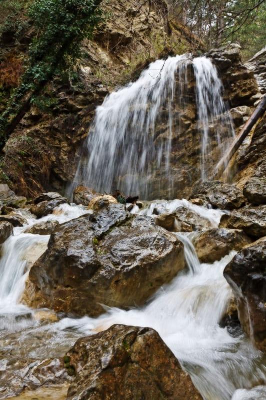 Водопады на реке Яузлар