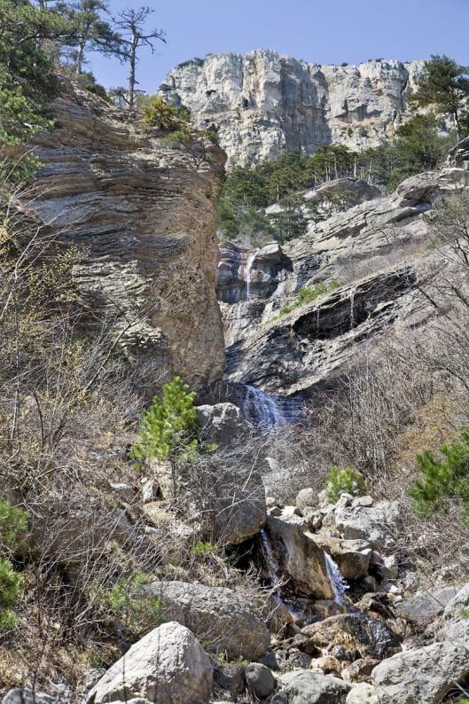 Яузлар водопады