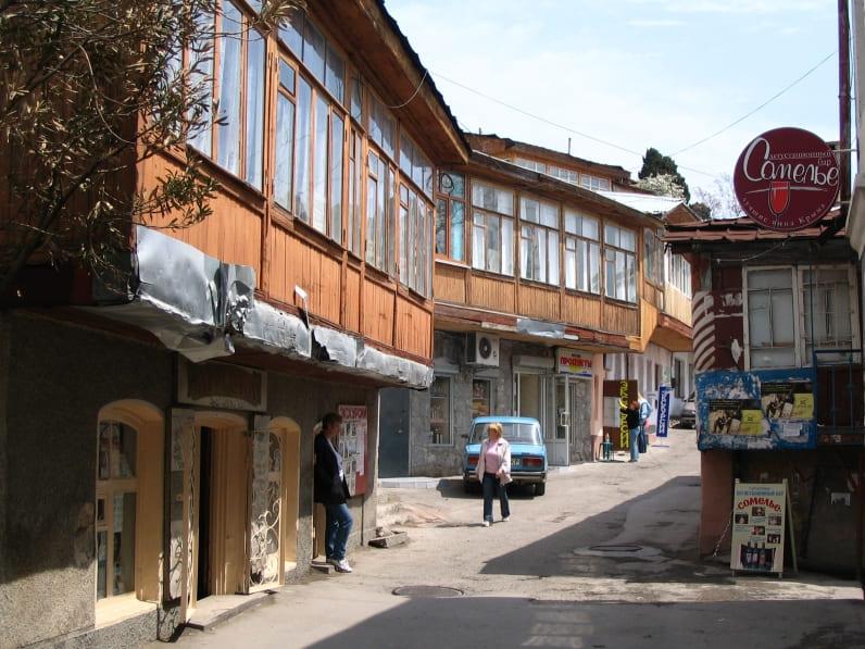 курортный поселок Гурзуф фото