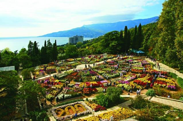 в ялте ботанический сад фото