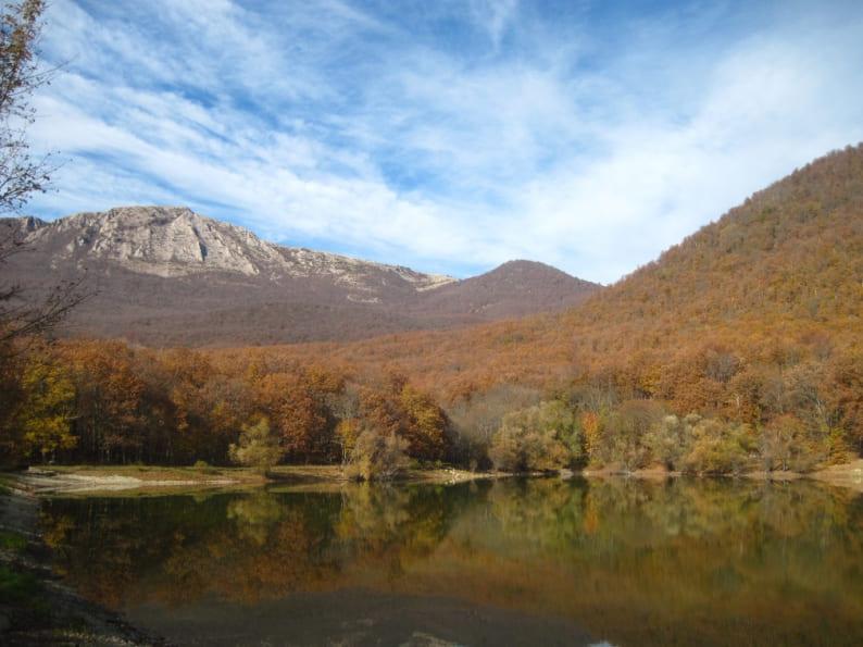 горные озера Крыма