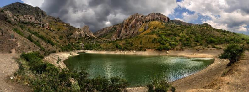 озера Крыма фото