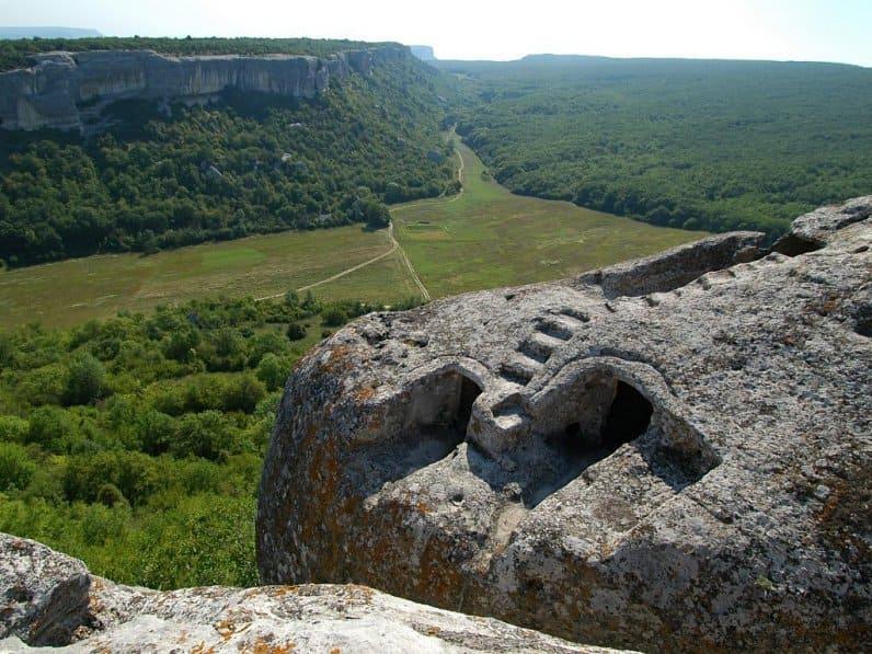 пещерные города полуострова Крым