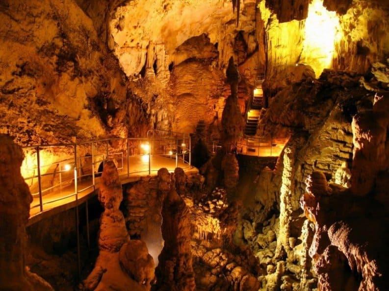 красоты Мраморной пещеры