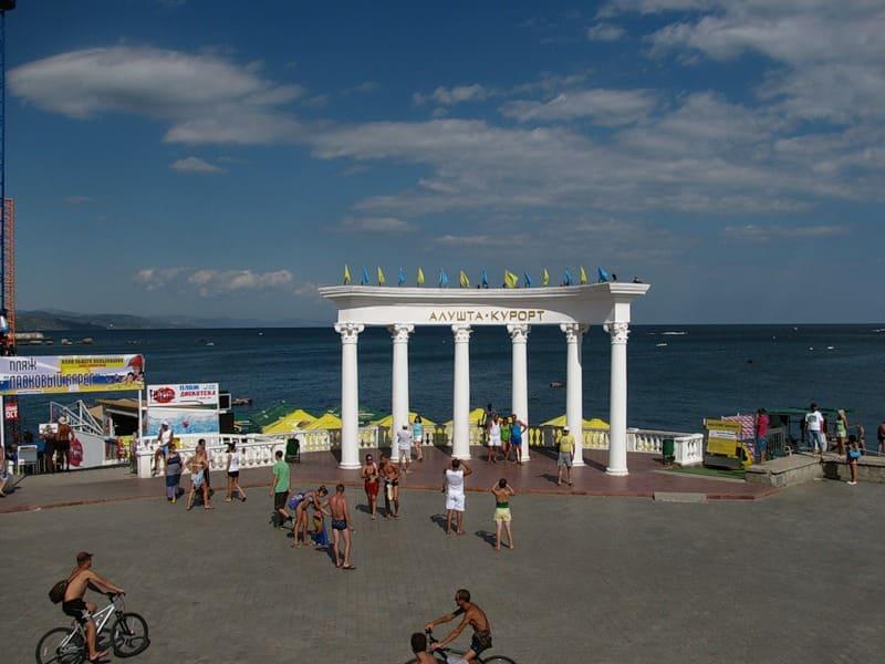 Крым веб камера онлайн реальное время море набережная