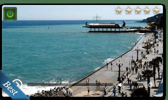 веб камера набережная Ялты онлайн