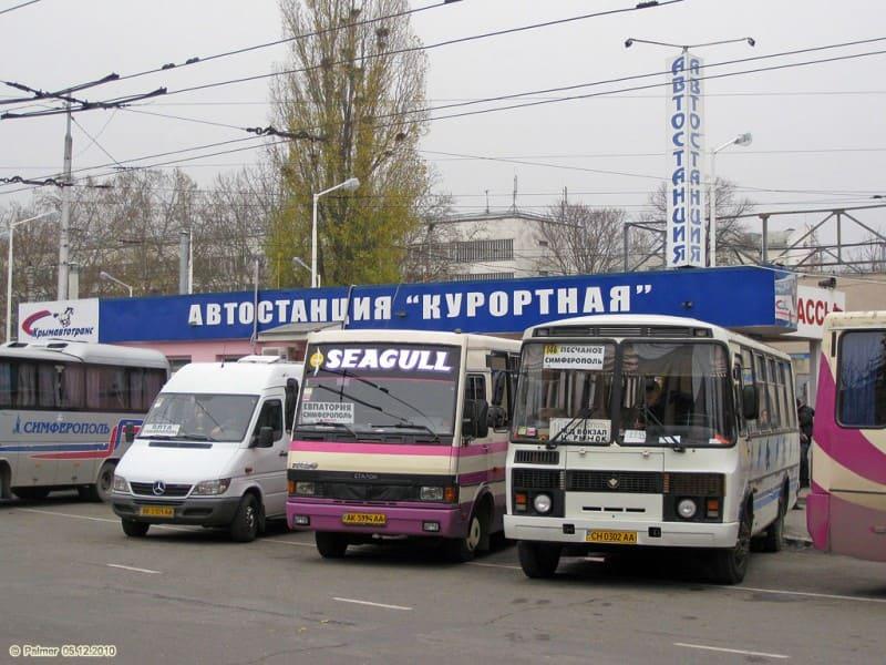 Расписание автобусов Симферополь - Керчь 2019
