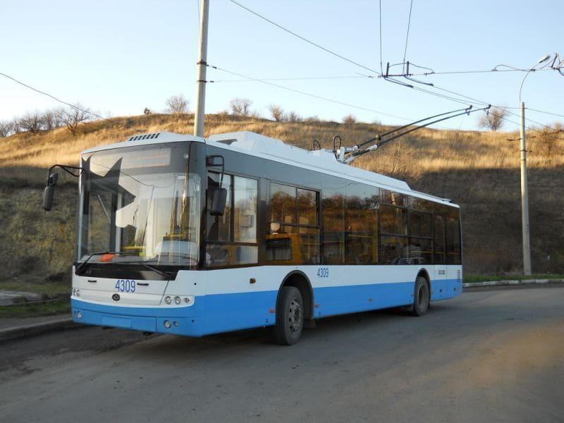 троллейбус 21 Симферополь - Перевальное 2019