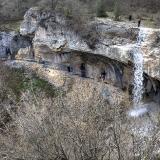 водопад Фатьма в Байдарской долине