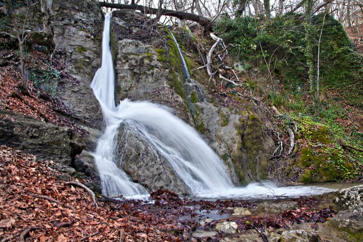 Водопад Гейзер фото