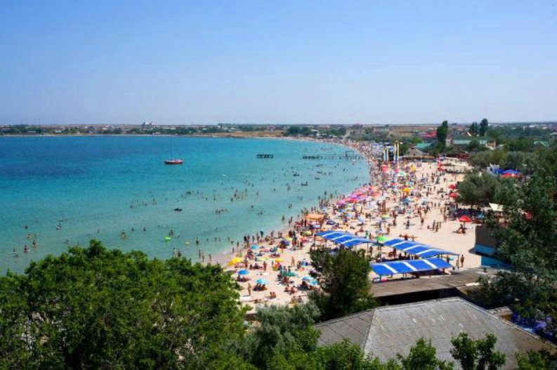 Веб камера пляж Черноморское