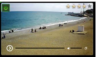 веб камера Алушты пляж