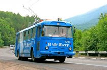 троллейбус аэропорт Симферополь - Ялта №55