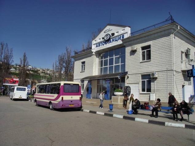 расписание автобусов Севастополь - Симферополь 2019