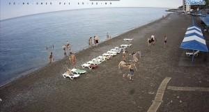 веб камера пляжа Алушты