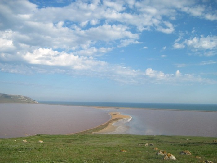 кояшское соленое озеро