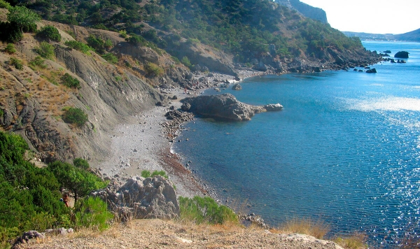 Нудистские пляжи юга 40