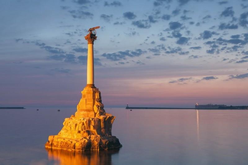 веб камера памятник затопленным кораблям Севастополь
