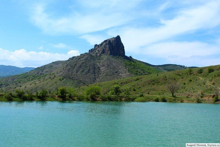 озеро в Междуречье Судак фото