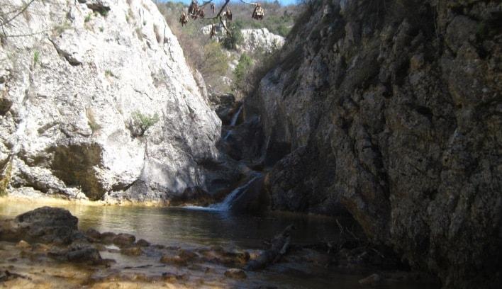 Водопад на реке Бага Крым