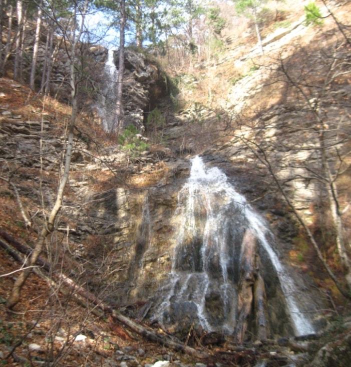 водопады Оксека