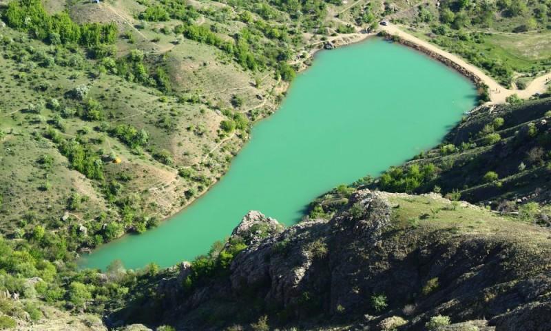 озеро Панагия Арпат