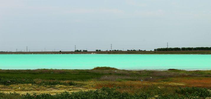 Красное озеро Красноперекопск
