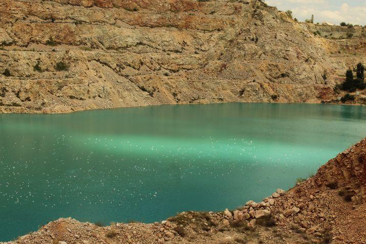 Карьерное озеро Балаклава