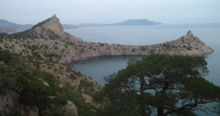 Мыс капчик поселок новый свет Крым